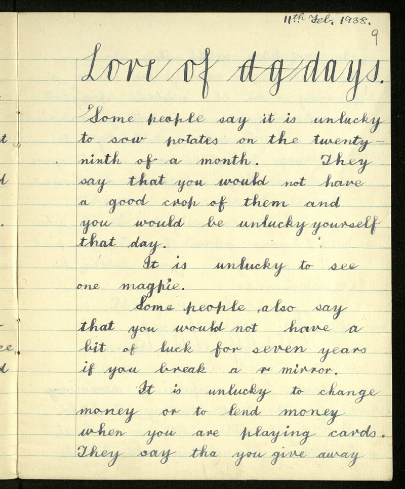 Lore of Days