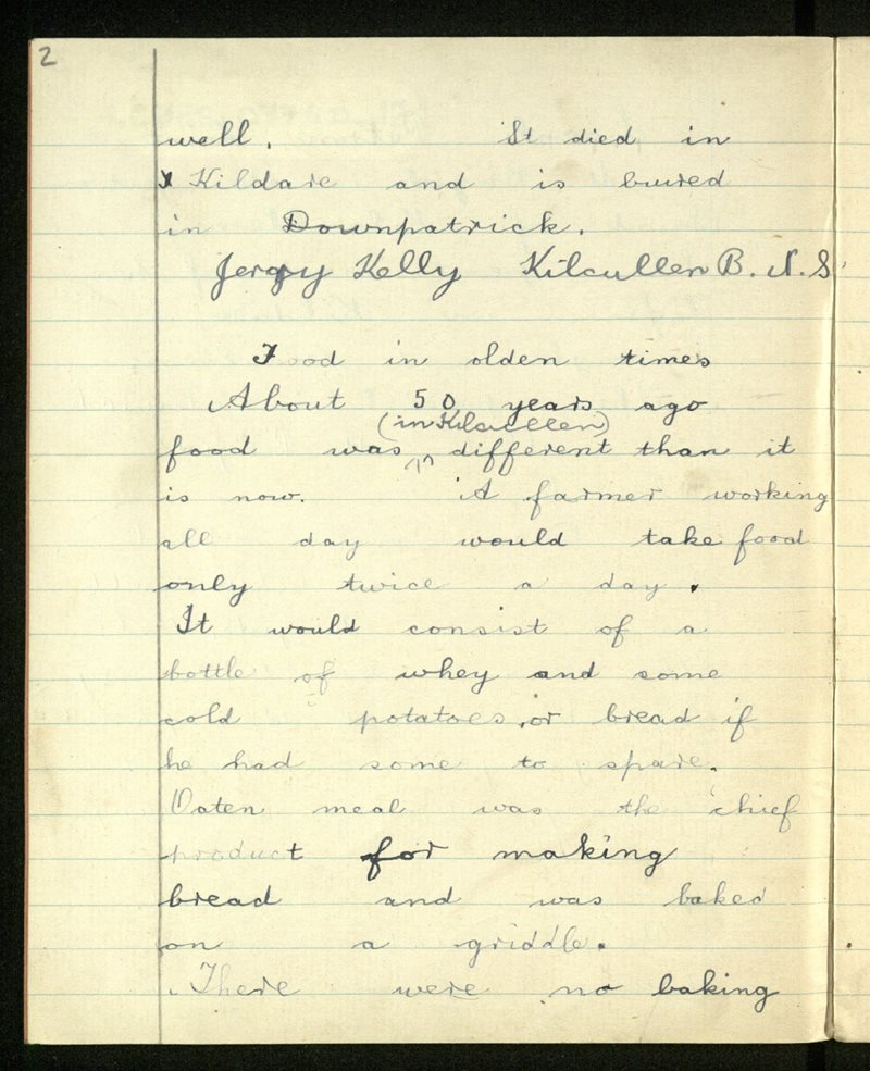 Kilcullen (B.)   The Schools' Collection