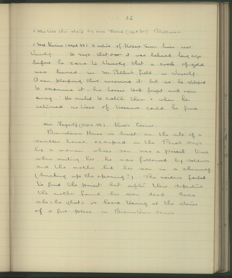 Brownstown (C.), Curragh Camp | The Schools' Collection