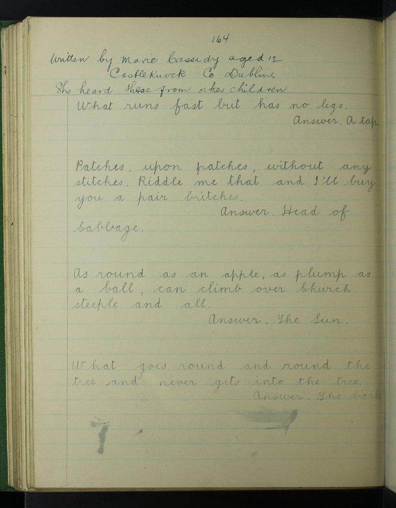 St Brigid's, Castleknock | The Schools' Collection
