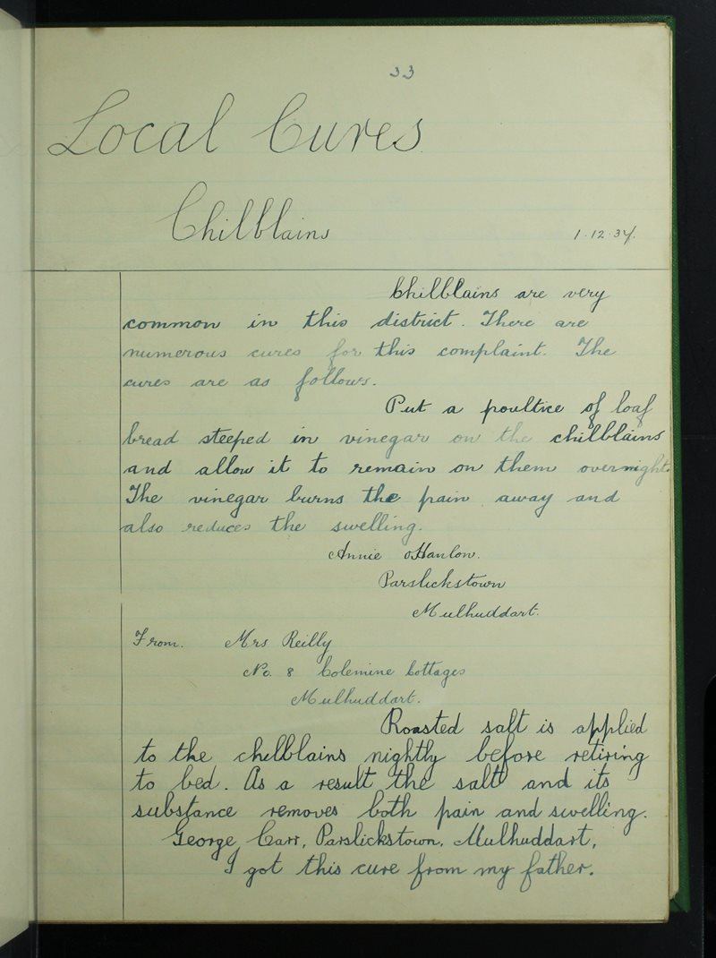 Mulhuddart | The Schools' Collection