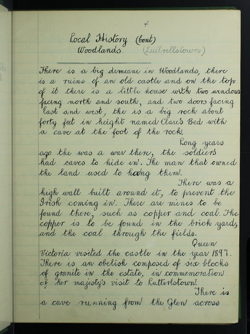 Local History - Woodlands
