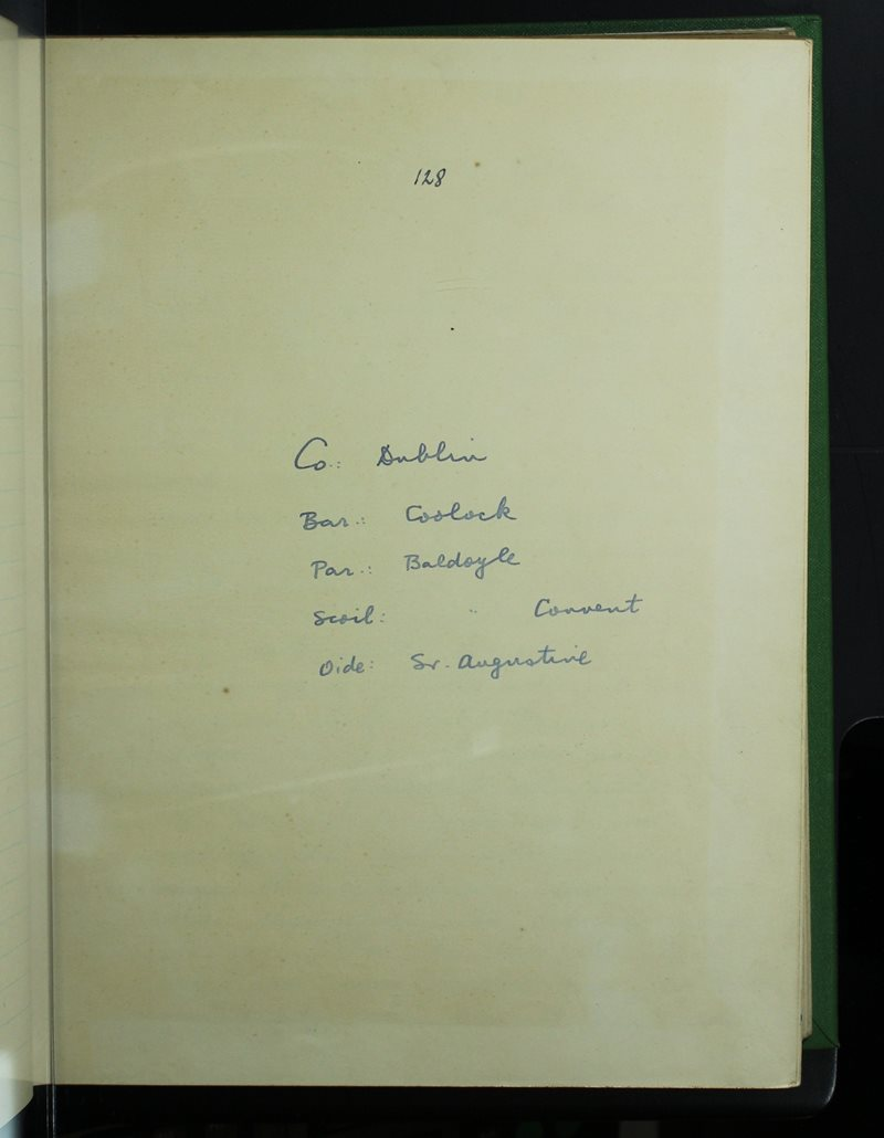 Baldoyle Convent | The Schools' Collection