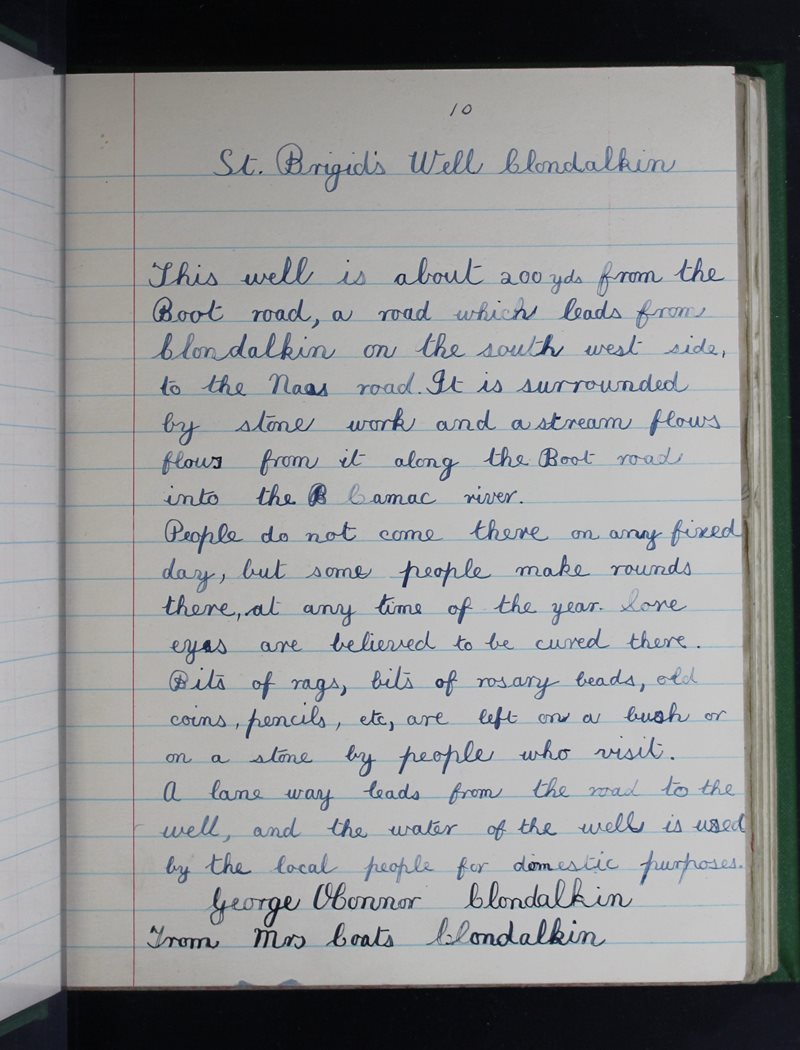 Clondalkin (B.) | The Schools' Collection