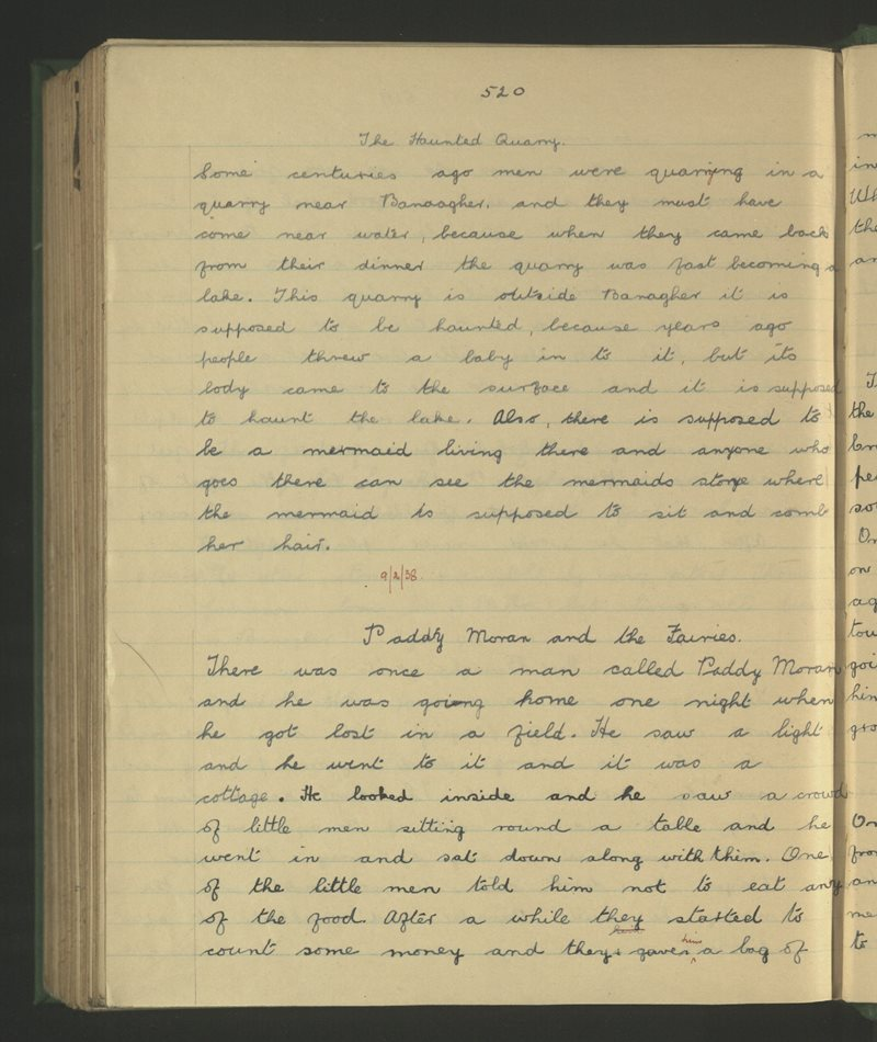 Banagher (Parochial) | The Schools' Collection