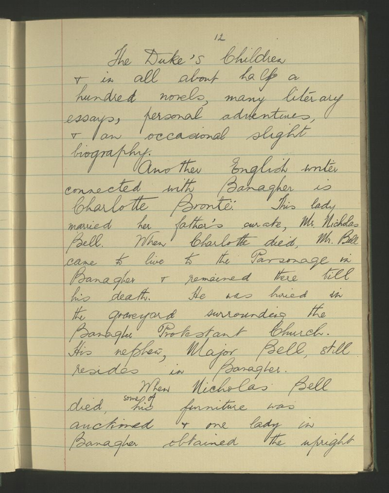 Banagher Convent | The Schools' Collection