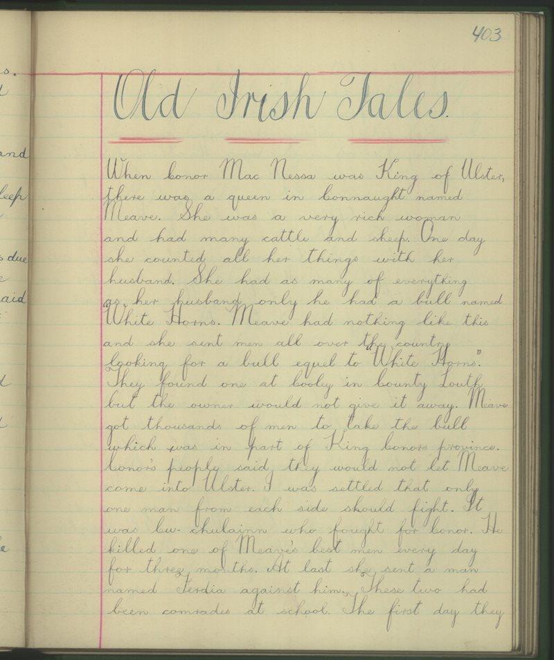 Old Irish Tales