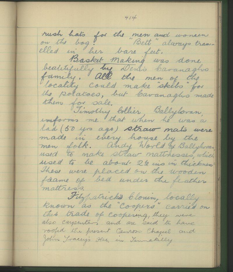 Clonin, Mountrath | Bailiúchán na Scol