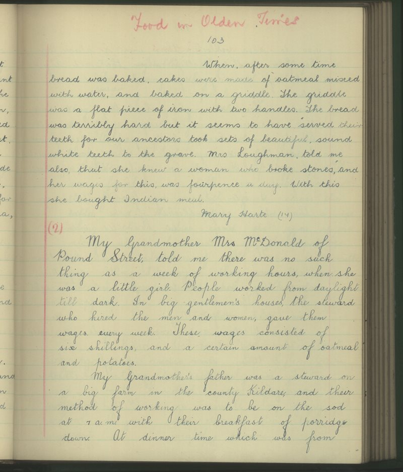 St John of God Convent, Rathdowney | The Schools' Collection