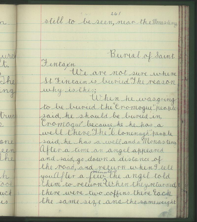 Scoil na mBráthar, Portlaoighse | Bailiúchán na Scol