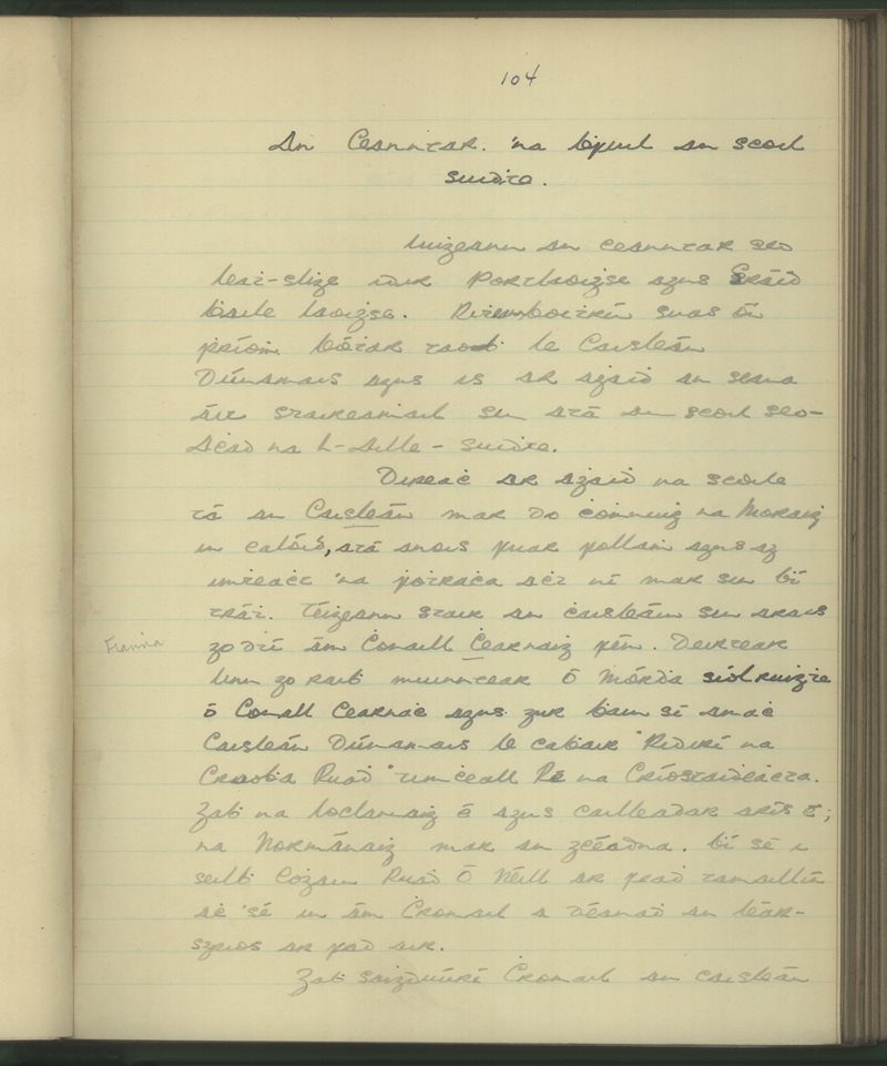 Aughnahilla, Stradbally | Bailiúchán na Scol