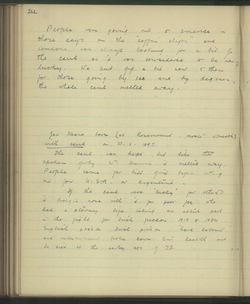 Loughteague, Stradbally | The Schools' Collection