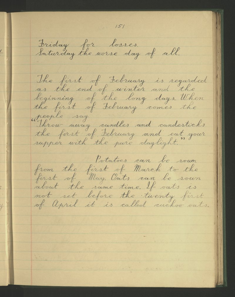 Harristown, Piltown | The Schools' Collection