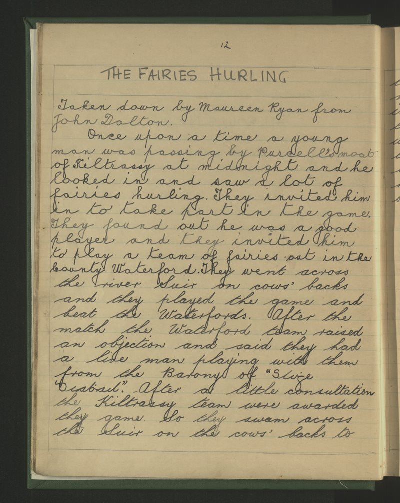 The Fairies Hurling