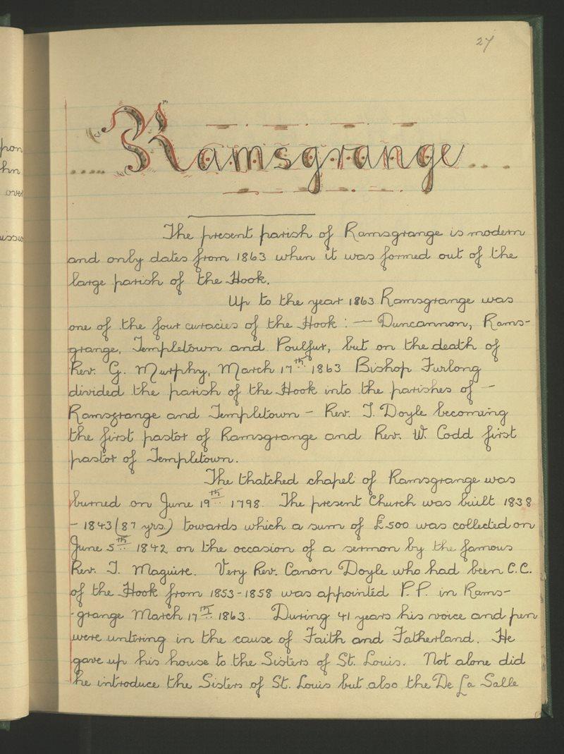 Ramsgrange