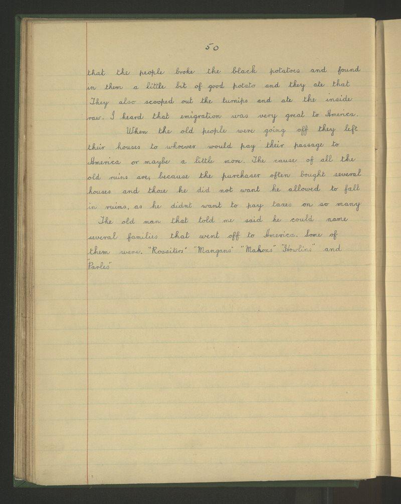 Naomh Bríghid, Blackwater | The Schools' Collection
