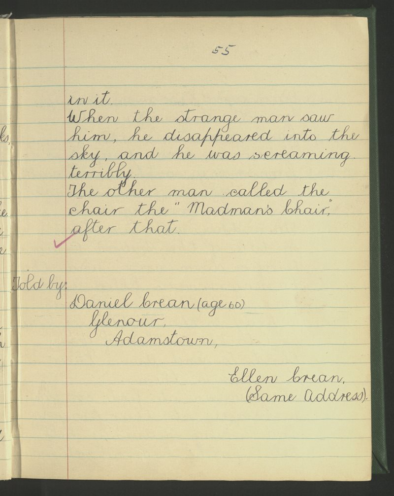 Adamstown   The Schools' Collection