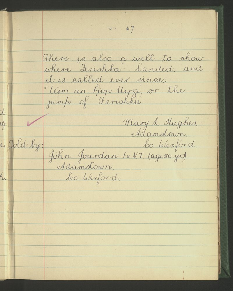 Adamstown | The Schools' Collection