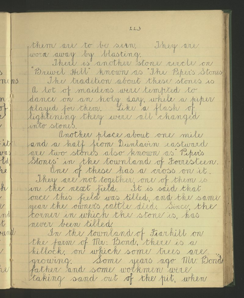 Dunlavin (2) | The Schools' Collection