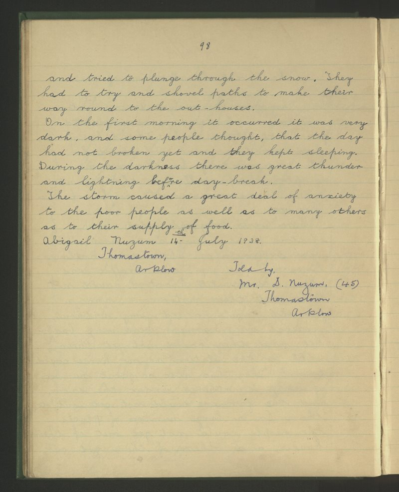 Carysfort, Arklow | The Schools' Collection