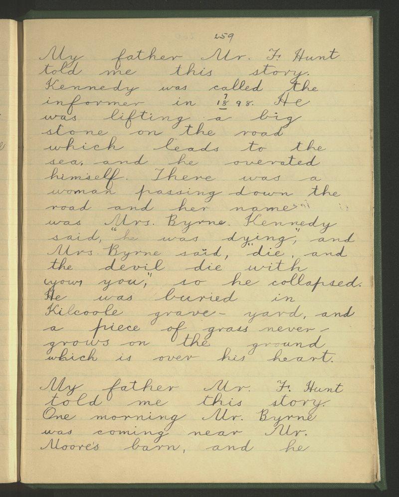 Kilcoole (B.), Delgany | The Schools' Collection