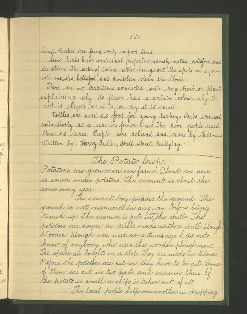 Ballybay (Hall St.) | The Schools' Collection