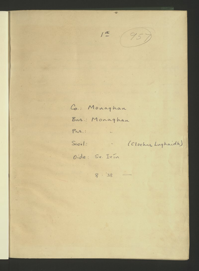 Monaghan (Clochar Lughaidh)   Bailiúchán na Scol