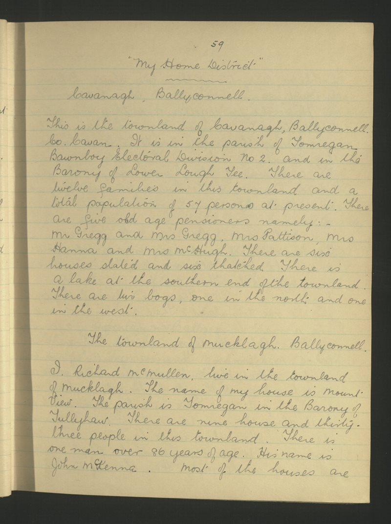 Béal Átha Conaill (2) | The Schools' Collection