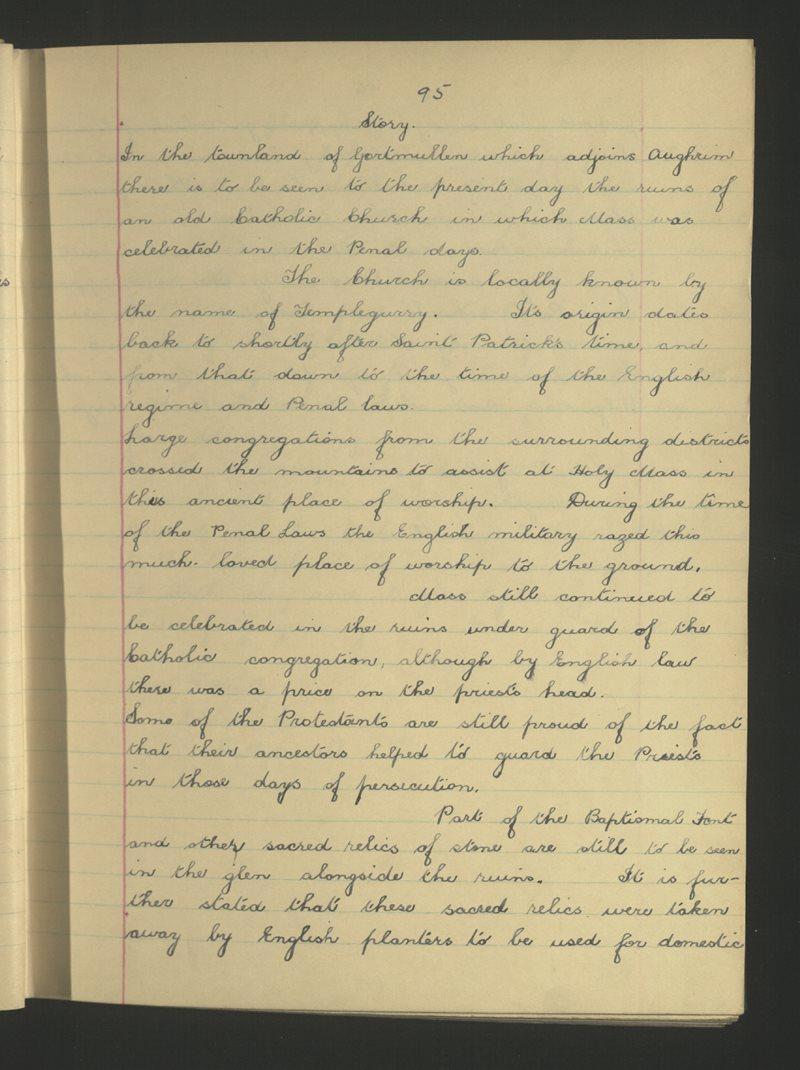 Béal Átha Conaill (C.) | The Schools' Collection