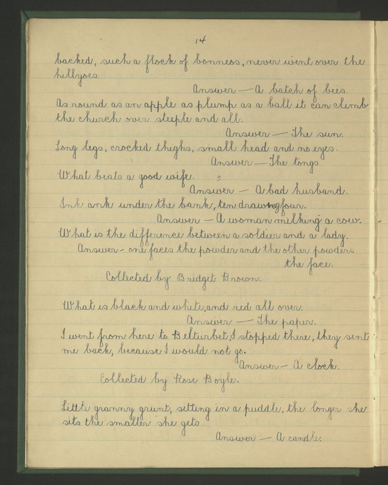 Coill na Leac | The Schools' Collection
