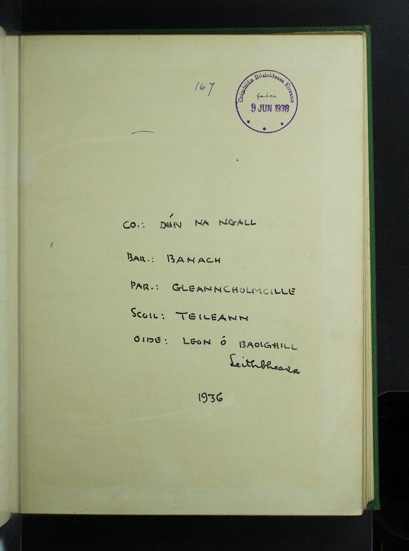 Teileann | The Schools' Collection