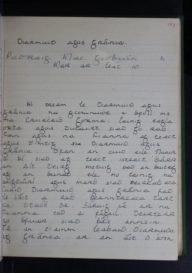 Diarmuid agus Gráinne