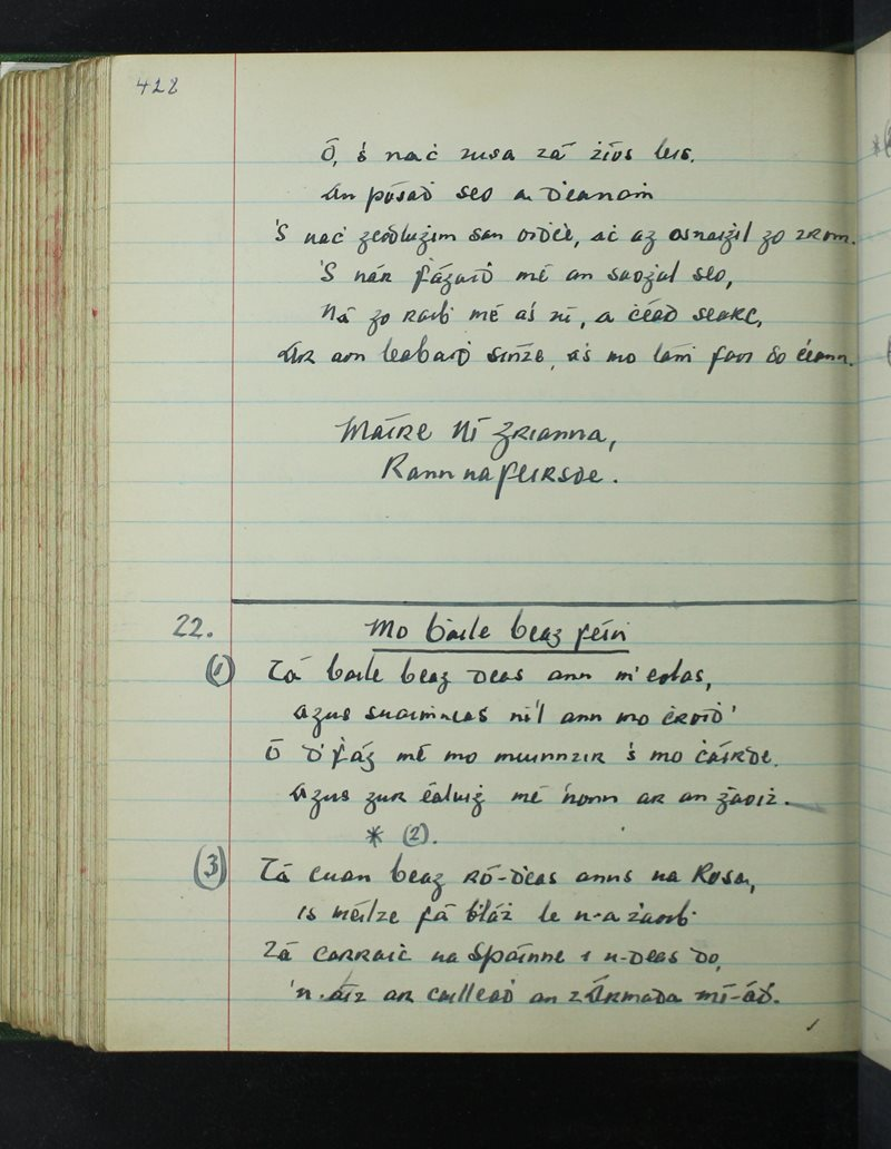 Rann na Feirsde | The Schools' Collection
