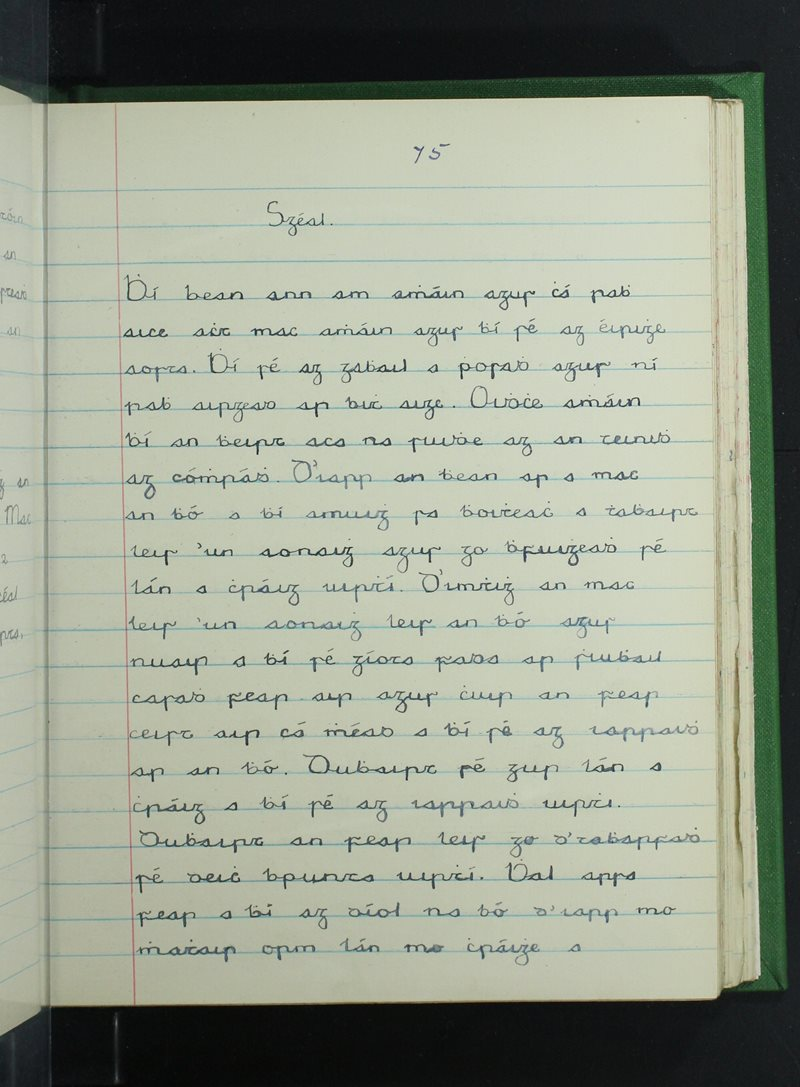 Cnoc na Naomh | Bailiúchán na Scol