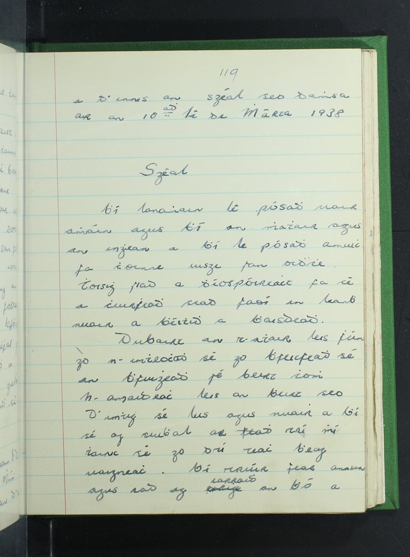 Cnoc na Naomh   The Schools' Collection