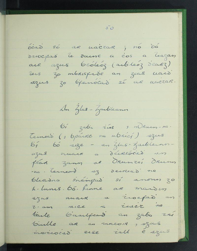 Ceathramhadh Ceanainn (C.)   The Schools' Collection