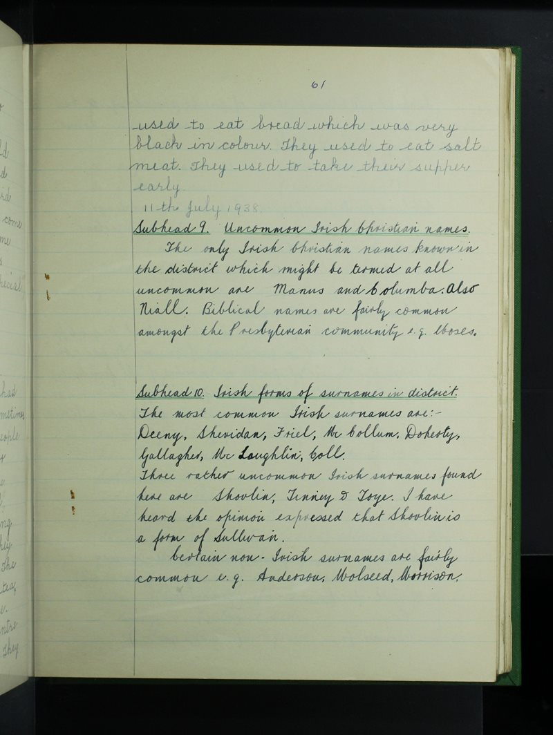 Ráth Mhaoláin (Robertson) | The Schools' Collection