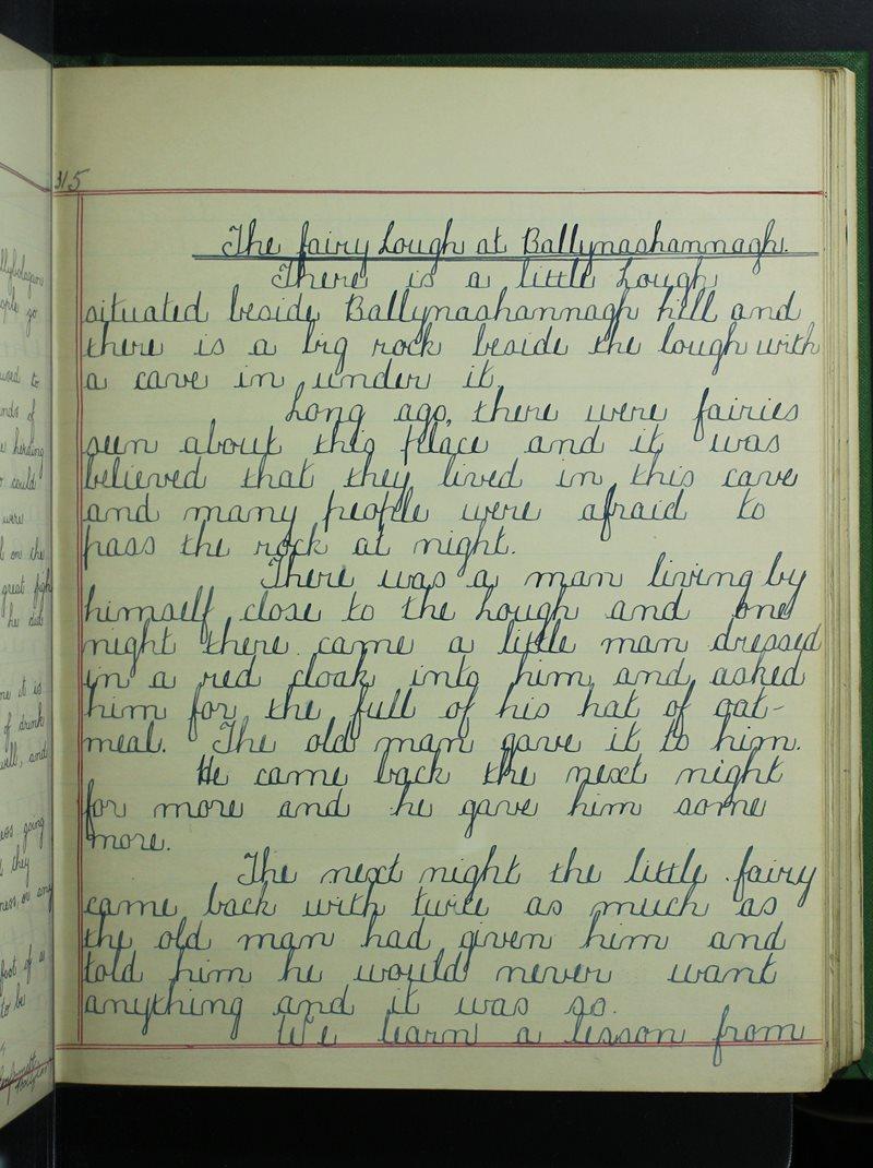 The Fairy Lough at Ballynashannagh