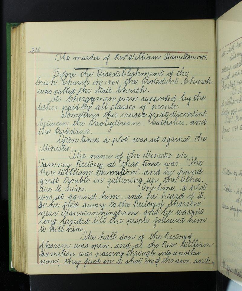 The Murder of Reverend William Hamilton 1797