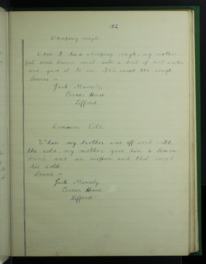 Hansard School, Lifford   The Schools' Collection