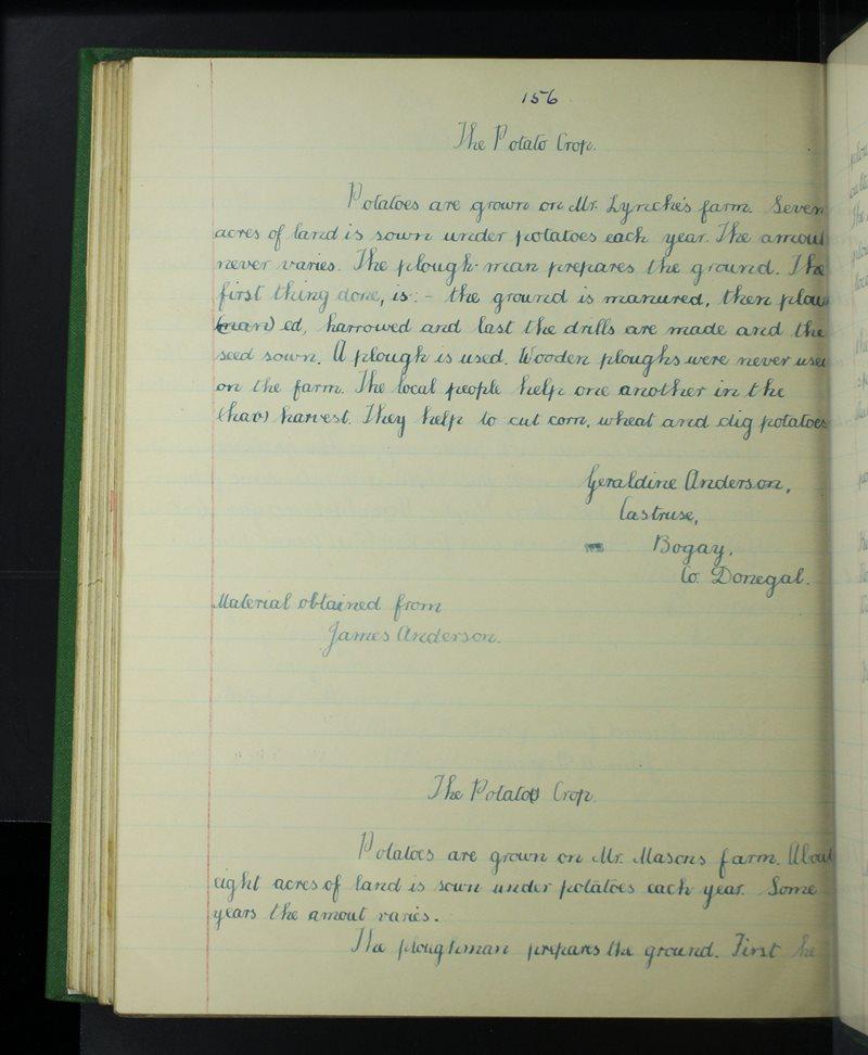 Alt Achadh Doire | The Schools' Collection