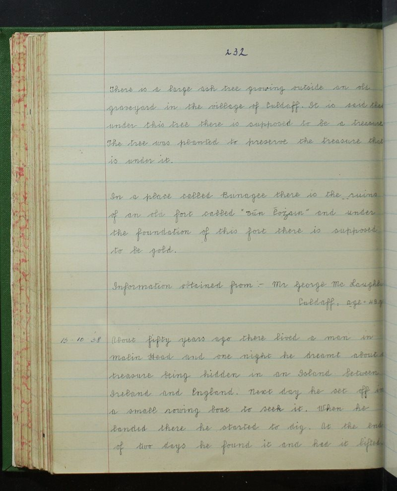 Clochar na Trócaire, Carn Domhnaigh   The Schools' Collection