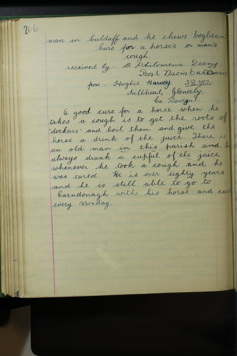 St Boden's, Culdaff | The Schools' Collection